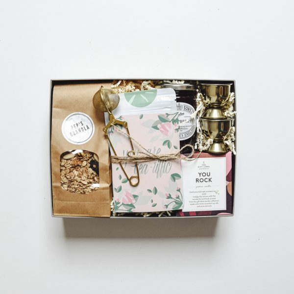 Breakfast in bed - Ivy & Faye giftbox